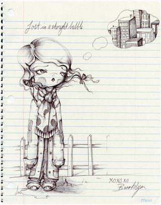 Hobo baby drawing001 pinkytoast