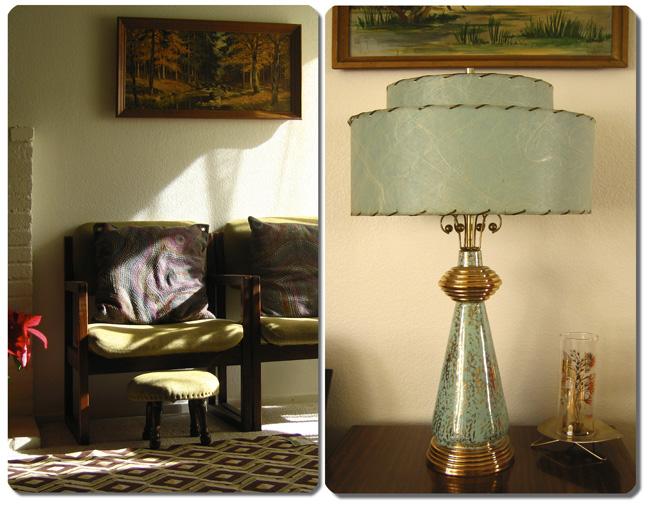 Pinkytoast house atomic lamp