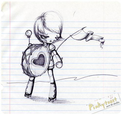 Valentine drummer sketch020