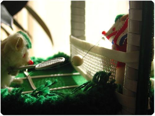 Mouse tennis purse 3