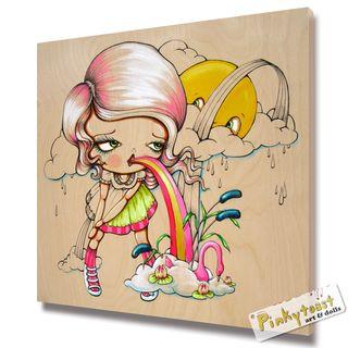 She swallowed a fairy tale pinkytoast 7