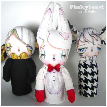 Boxing rabbit doll pinkytoast 6
