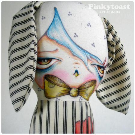 Jail my heart sweet bunny pinkytoast doll 2