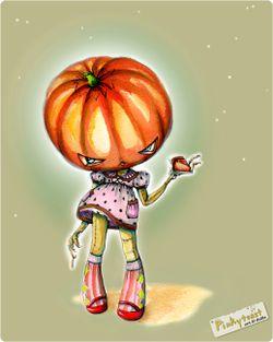 Pumpkin pie cannibal girl pinkytoast