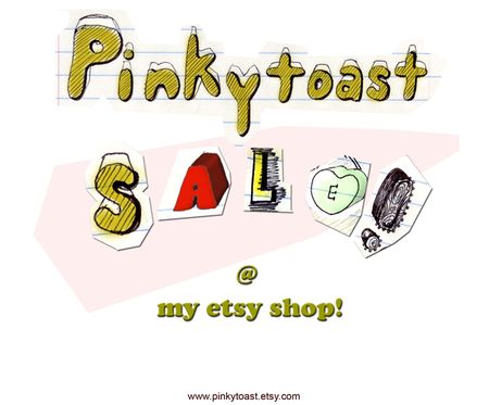 Pinkytoast sale etsy shop