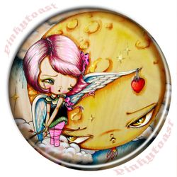 Cupid gift her heart pocket mirror pinkytost
