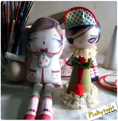 Doll making pinkytoast christmas 2