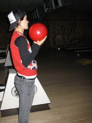 Sandra bowling