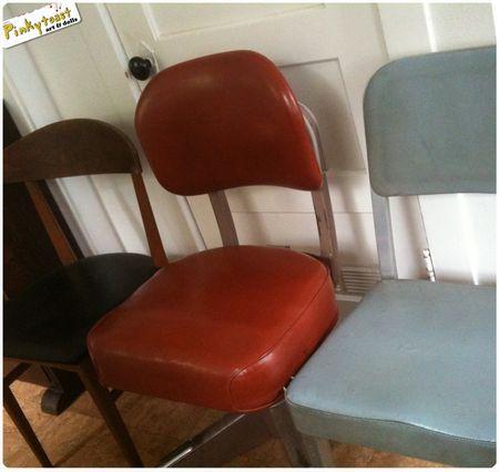 Mid century modern steno office chair pinkytoast blog
