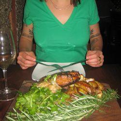 Wild boar dinner pinkytoast blog
