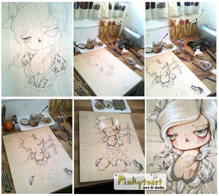 Work in progress circus boxer pinkytoast