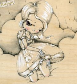 1 walk in the clouds pinkytoast drawing