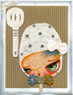 Kitchen popsicle collage girl pinkytoasy