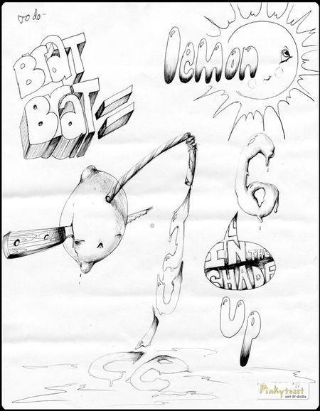 Lemon brat sketch pinkytoast 2010