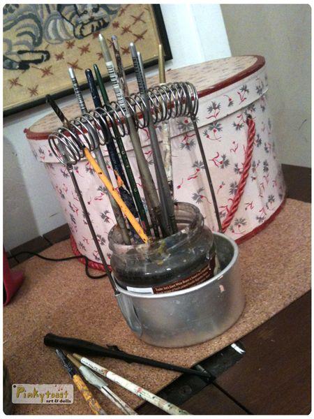 Pinkytoast paint brushes 2010 blog