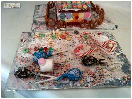 Christmas gingerbread house hurricane pinkytoast