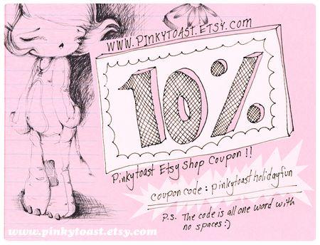 Pinkytoast discount coupon