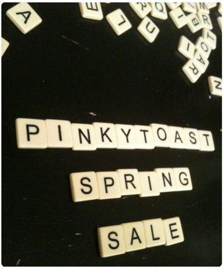 Spring sale 2 pinkytoast