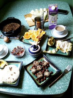 My best friends wedding breakfast table